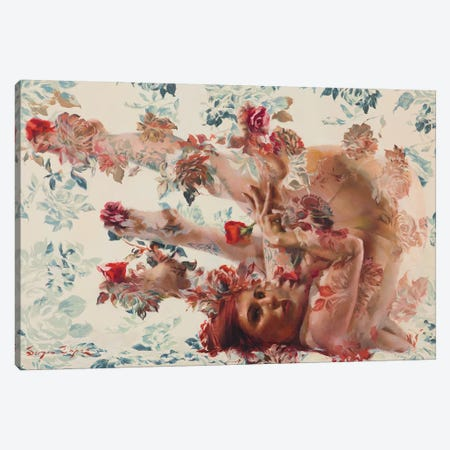 Europeana Canvas Print #SER9} by Sergio Lopez Canvas Wall Art