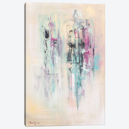 Silent Flow Canvas Print #SEY19} by Shirly Maimon Art Print
