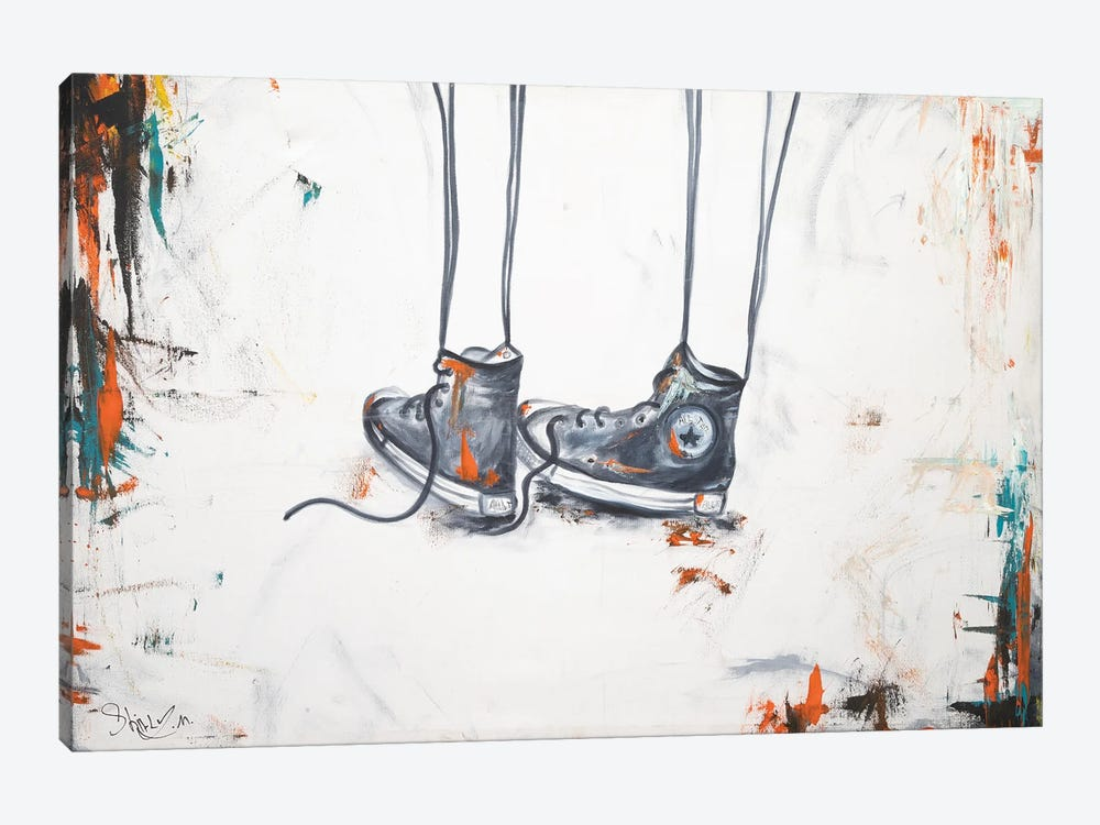 My Shoes by Shirly Maimon 1-piece Canvas Print