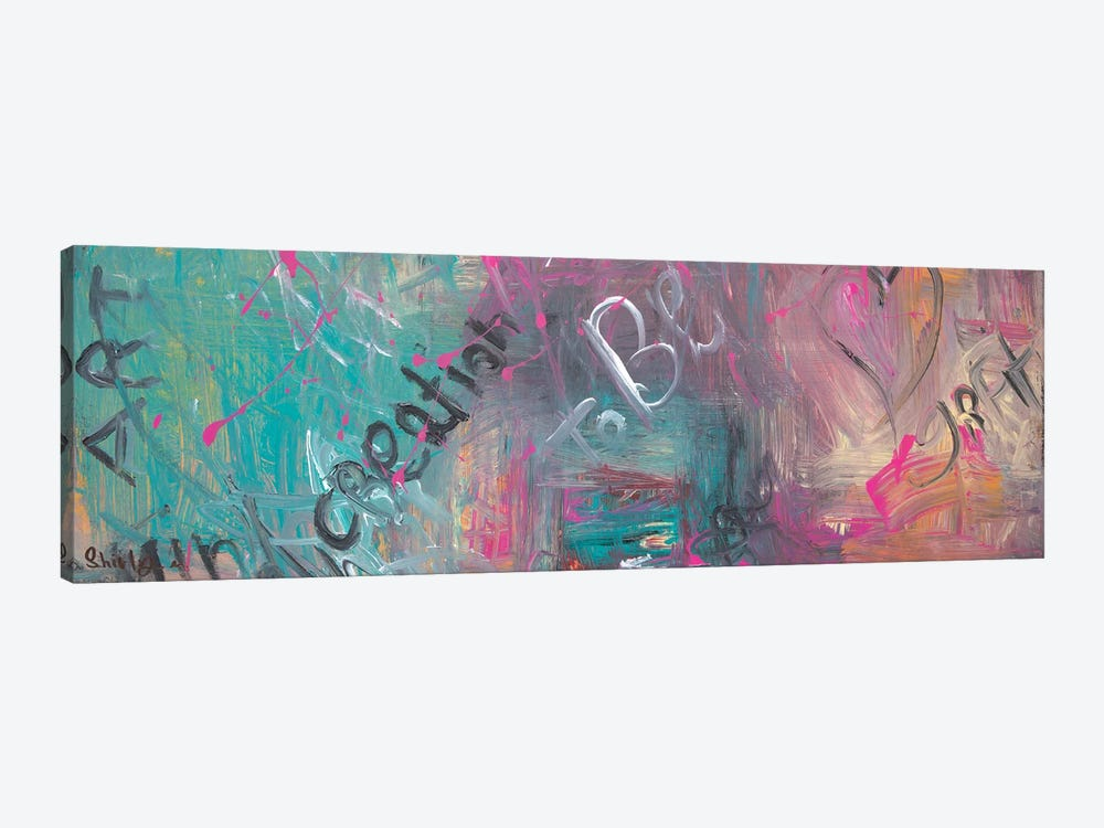 Creation by Shirly Maimon 1-piece Canvas Art