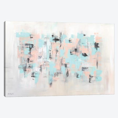 Quiet Weave Canvas Print #SEY31} by Shirly Maimon Art Print