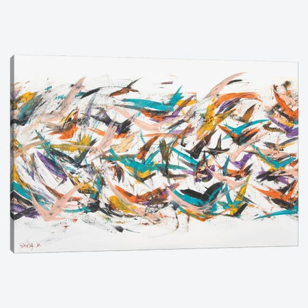 Fly Canvas Print #SEY32} by Shirly Maimon Canvas Print