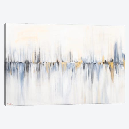 Between The Lines Canvas Print #SEY37} by Shirly Maimon Canvas Wall Art