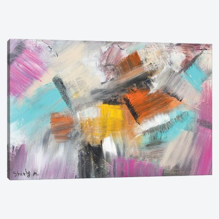 Squares Canvas Print #SEY39} by Shirly Maimon Canvas Art Print