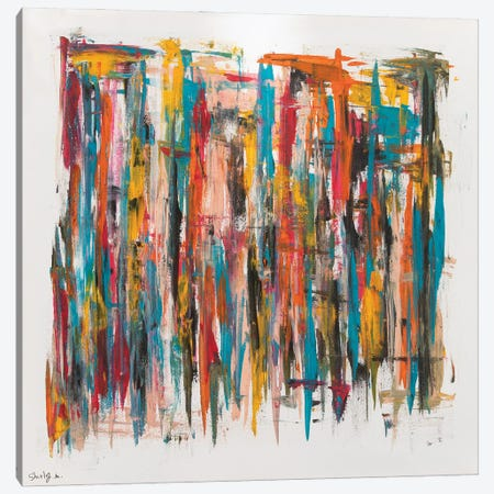 Lines Canvas Print #SEY7} by Shirly Maimon Canvas Artwork