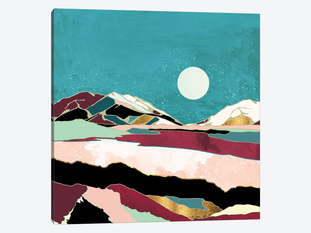 Teal Sky by SpaceFrog Designs 1-piece Art Print
