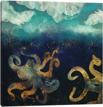 Underwater Dream II Canvas Art Print