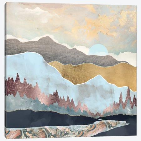 Winter Light Canvas Print #SFD107} by SpaceFrog Designs Canvas Art Print