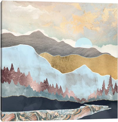 Winter Light Canvas Art Print