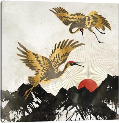 Elegant Flight II Canvas Art Print