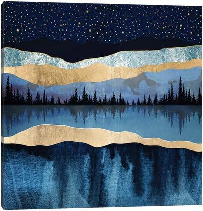 Midnight Lake Canvas Art Print