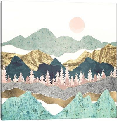 Summer Vista Canvas Art Print
