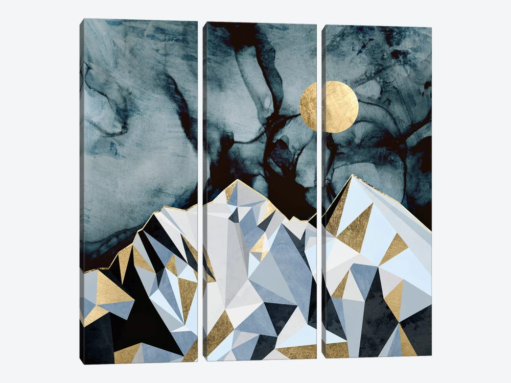 Midnight Peaks 3-piece Art Print