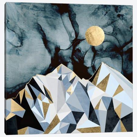 Midnight Peaks Canvas Print #SFD118} by SpaceFrog Designs Canvas Art Print