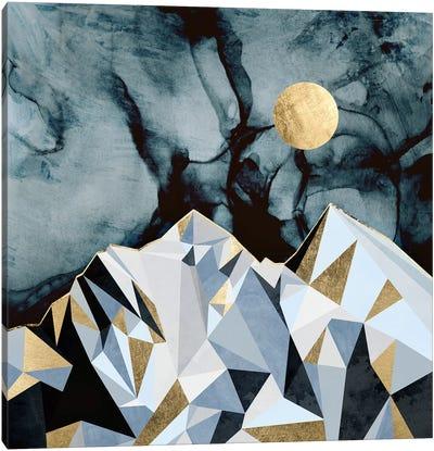 Midnight Peaks Canvas Art Print