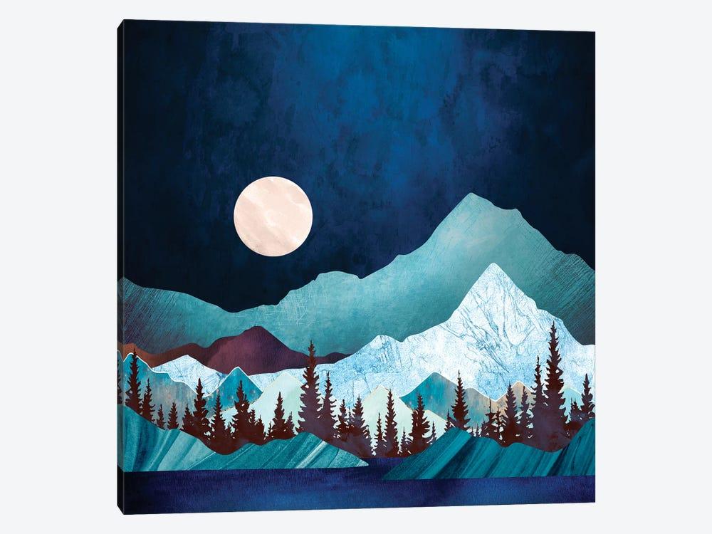 Moon Bay by SpaceFrog Designs 1-piece Canvas Artwork