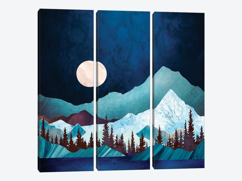 Moon Bay by SpaceFrog Designs 3-piece Canvas Art
