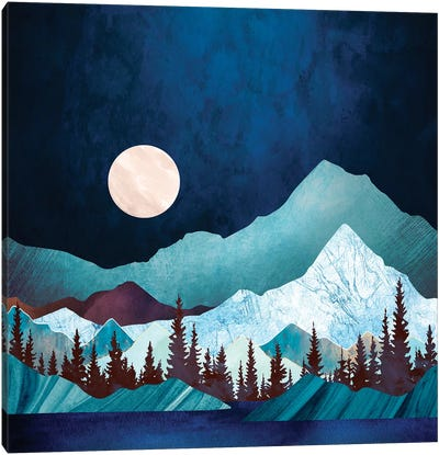 Moon Bay Canvas Art Print