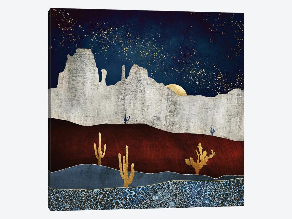 Moonlit Desert by SpaceFrog Designs 1-piece Canvas Art
