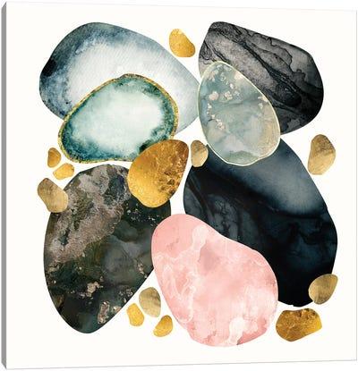 Pebble Abstract Canvas Art Print