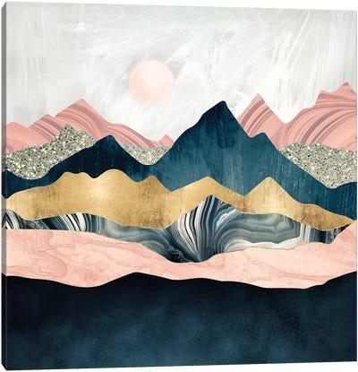 Plush Peaks Canvas Art Print