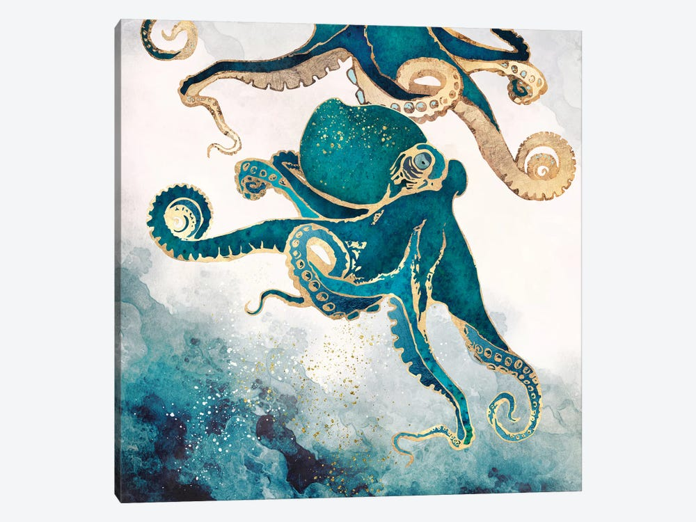 Underwater Dream V by SpaceFrog Designs 1-piece Canvas Print
