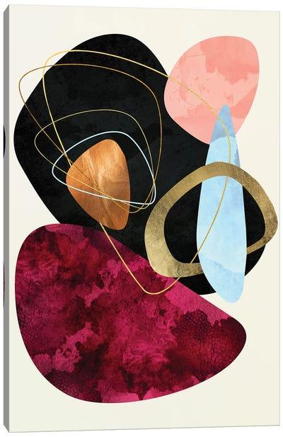 Abstract Pebble II Canvas Art Print