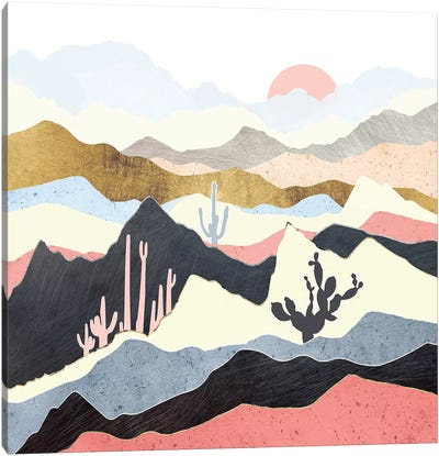 Desert Summer Canvas Art Print
