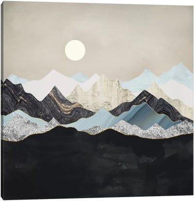 Silent Dusk Canvas Art Print