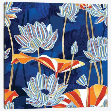 Bold Botanical Canvas Print #SFD138} by SpaceFrog Designs Canvas Art Print