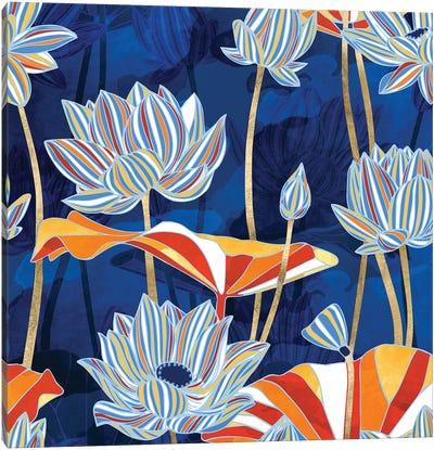 Bold Botanical Canvas Art Print