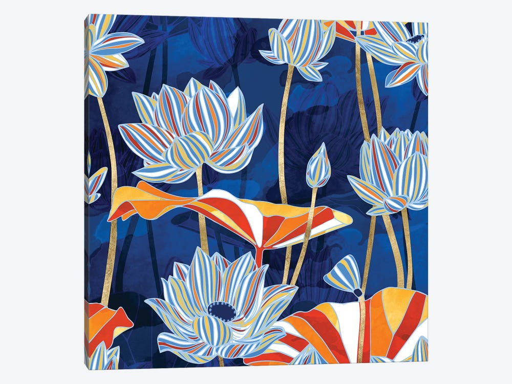 Bold Botanical by SpaceFrog Designs 1-piece Canvas Art Print