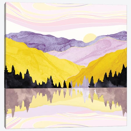 Spring Lake Canvas Print #SFD147} by SpaceFrog Designs Art Print