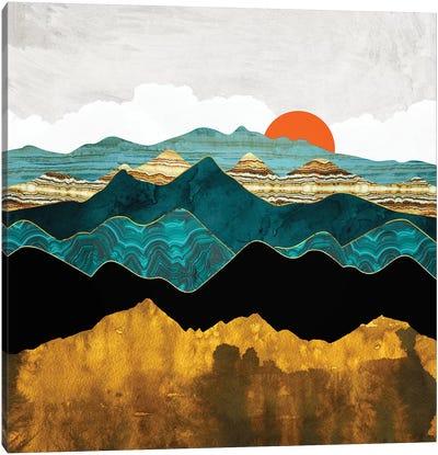 Turquoise Vista Canvas Art Print