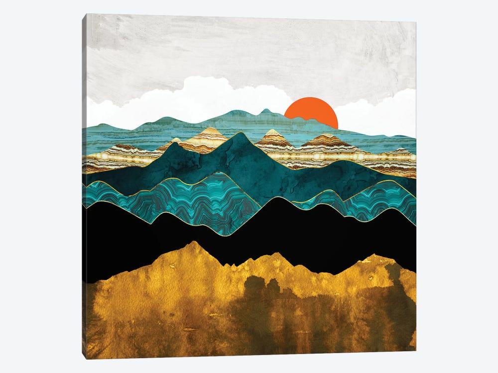 Turquoise Vista by SpaceFrog Designs 1-piece Canvas Artwork