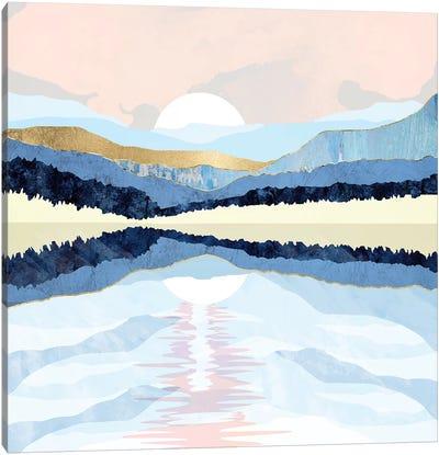 Winter Reflection Canvas Art Print