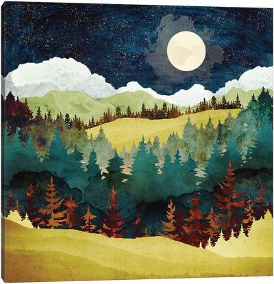 Autumn Moon Canvas Art Print