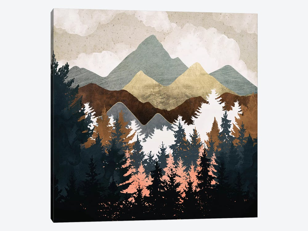 Forest View by SpaceFrog Designs 1-piece Canvas Wall Art