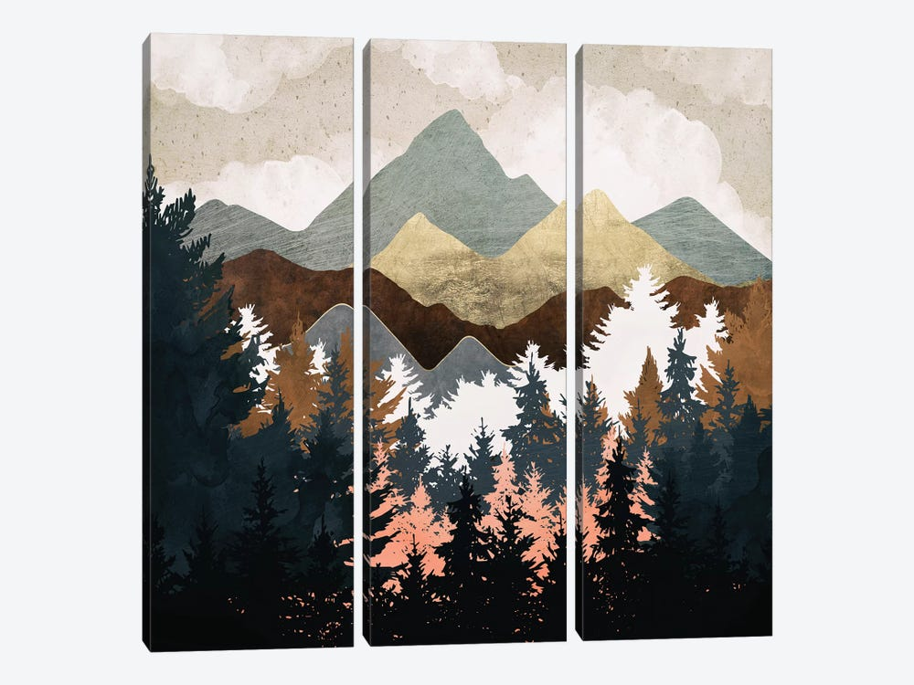 Forest View by SpaceFrog Designs 3-piece Canvas Art