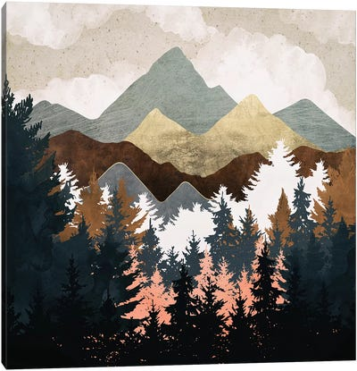 Forest View Canvas Art Print