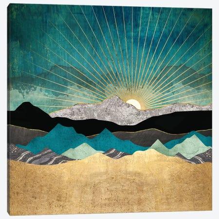 Peacock Vista Canvas Print #SFD155} by SpaceFrog Designs Canvas Art