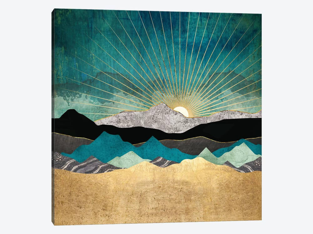 Peacock Vista by SpaceFrog Designs 1-piece Canvas Wall Art