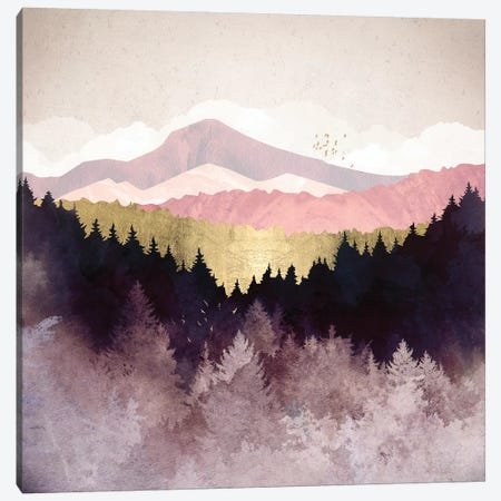 Plum Forest Canvas Print #SFD156} by SpaceFrog Designs Canvas Artwork