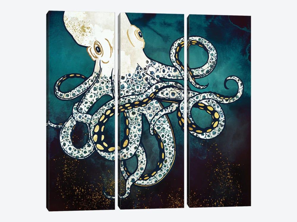 Underwater Dream VII by SpaceFrog Designs 3-piece Canvas Art