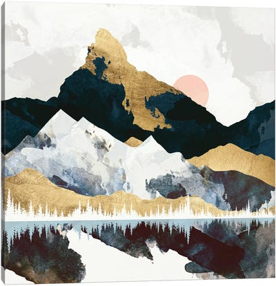 Winter's Day Canvas Art Print
