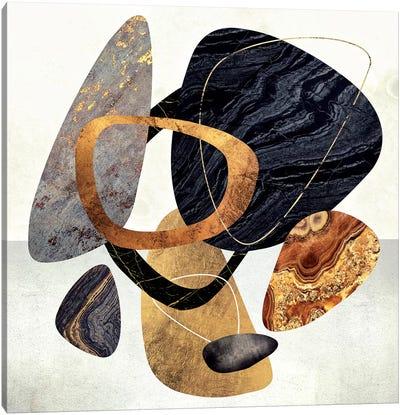 Abstract Pebbles III Canvas Art Print