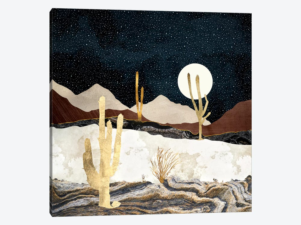 Desert View by SpaceFrog Designs 1-piece Canvas Print