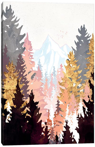 Wine Forest Canvas Art Print