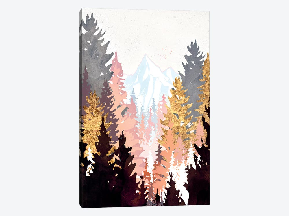 Wine Forest by SpaceFrog Designs 1-piece Canvas Art