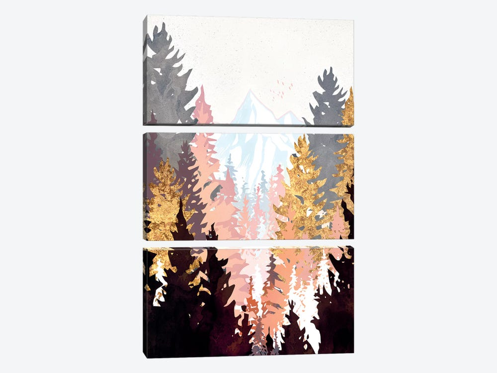 Wine Forest by SpaceFrog Designs 3-piece Canvas Art